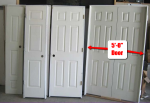 How to frame for basement doors and other basement door for Basement double door
