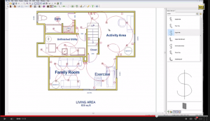 Basement Electric Plan Design Software Makes It Easy