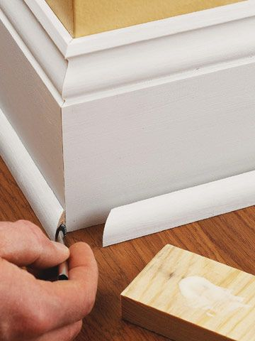 Installing Baseboard Trim | How to Install Baseboard Trim