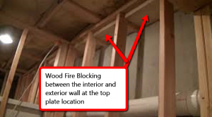 fire blocking your basement framing it s code