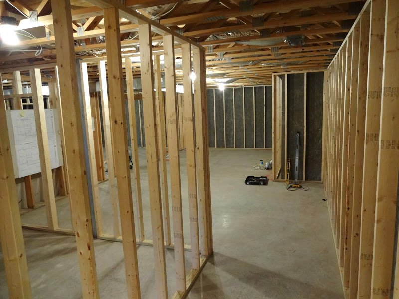 How do you frame a basement wall for Framing interior basement walls