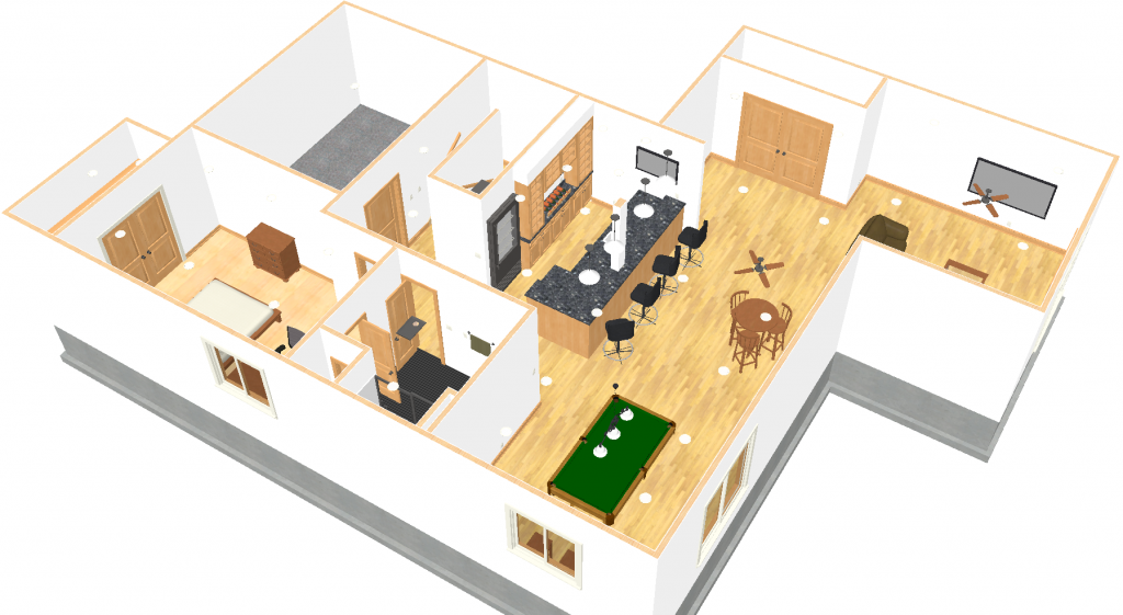 Basement design software how to design your basement Home layout design software