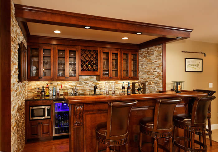 diy basement bar. How to Build a Bar